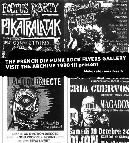 The french punk archive the diy flyers gallery the ricecooker do it yourself flyers is an online archive gallery of french punkrock flyers from the 90s to today solutioingenieria Choice Image
